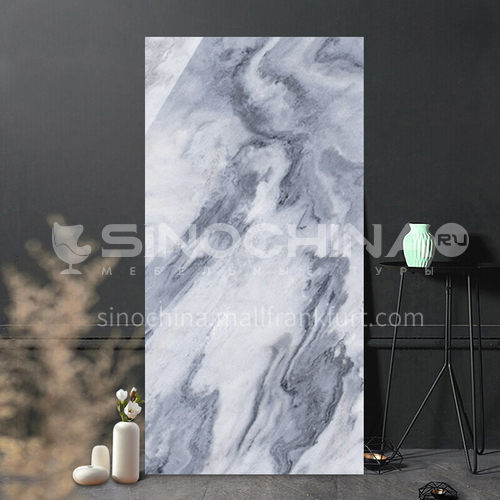 Simple and modern full-body marble living room TV background wall wall tiles-WLKZFB-W 800*1600mm