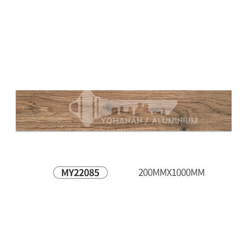 Nordic All Porcelain Wood Grain Brick Living Room Balcony Floor Tile-MY22085 200mm*1000mm