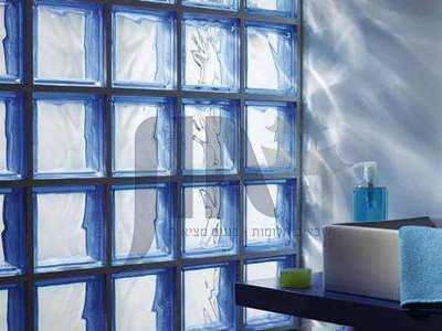 Glass brick installation method