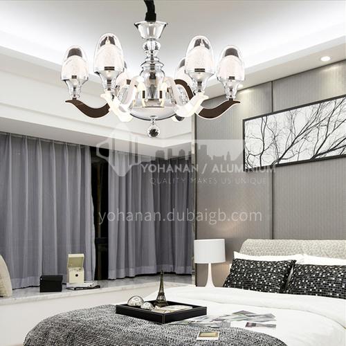 Crystal Modern Simple Atmospheric Chandelier Creative Acrylic Dining Room Living Room Bedroom Lamps-ASMJ-8023