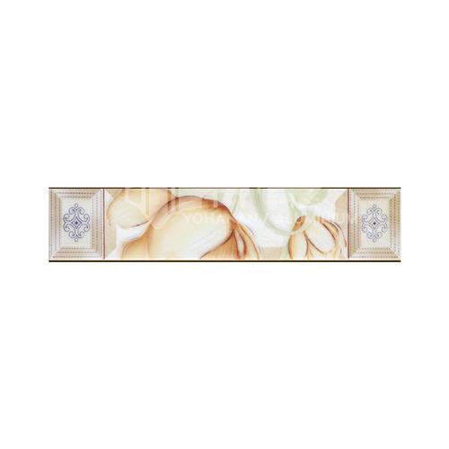 Modern glazed brick toilet waist line-FEZ36029Y 60*300mm