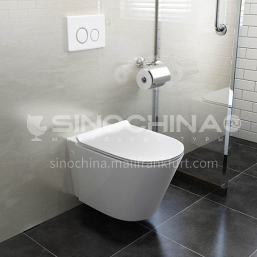 wall-mounted water-saving ceramic toilet  4012