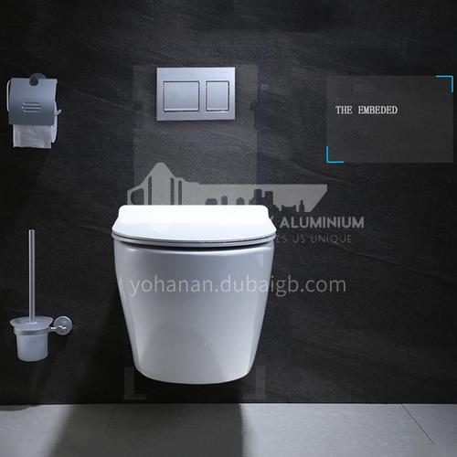 wall-mounted   water-saving  ceramic toiletCW-05