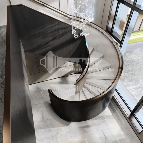 Natural white modern hot-selling marble staircase M-GA10X