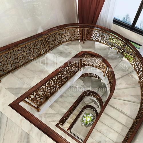 Natural white modern marble staircase M-G099G