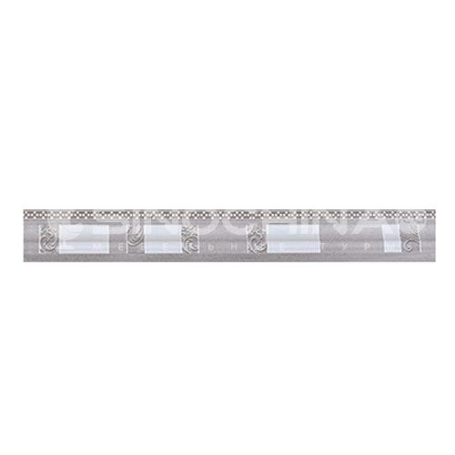 Modern minimalist gray kitchen bathroom wall tiles waist line-WLKF6J103-1PY1 76mm*600mm