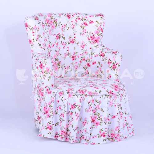 BF-floral sofa- Children sofa, small sofa, baby sofa, fabric floral sofa, single sofa