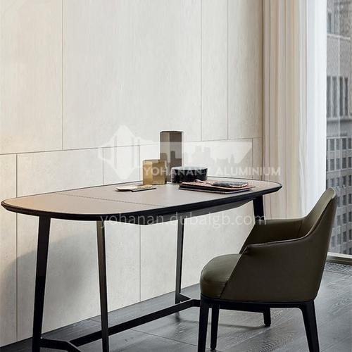 JY-JQ-023-Minimalist light luxury postmodern study bedroom work desk designer furniture