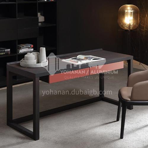 JY-SD1503-Italian minimalist desk home study designer desk bedroom simple modern nordic computer desk
