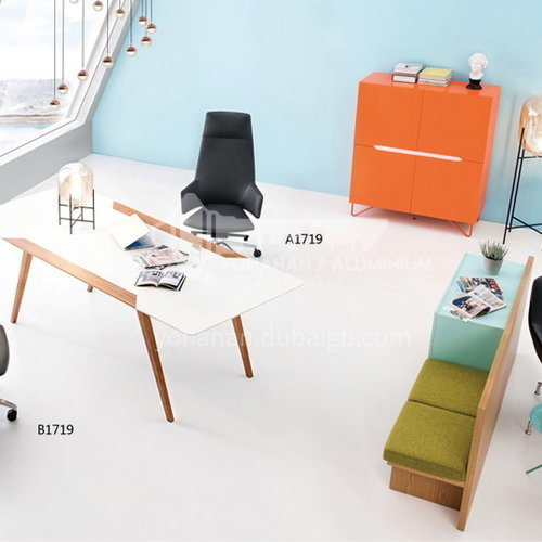 CX-AM 2022A, B, C-1-qualitative cotton, cut cotton-office chair, iron inner frame, high-density stereotyped cotton, round multifunctional chassis, 3-level air rod, PU wheels