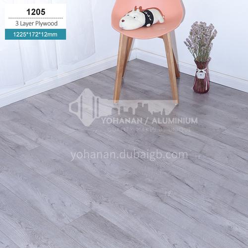 12mm three-layer solid wood flooring LXSC12MM-1205