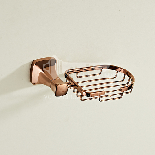Bathroom Simple Rose Gold Stainless Steel Soap Dish80807