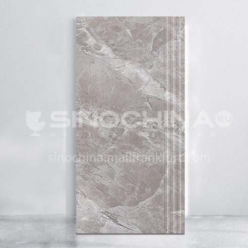 Whole body marble integrated staircase tile-WLKTJ007 473*1200mm