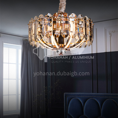 Home bedroom dining room living room crystal chandeliers modern creative personality Nordic light luxury crystal lamps-BRS-W16053