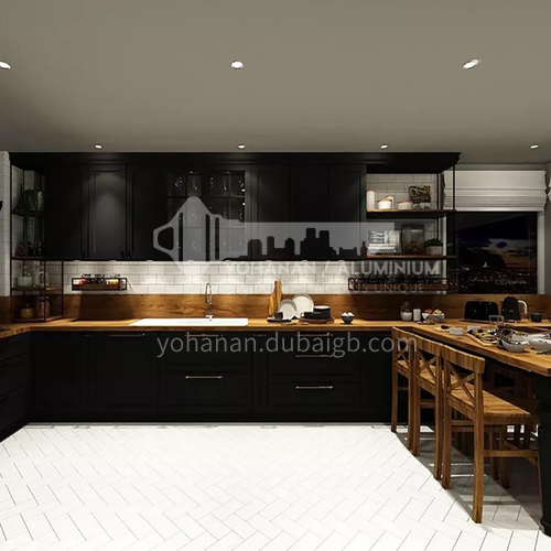 PVC with HDF classic kitchen GK-907