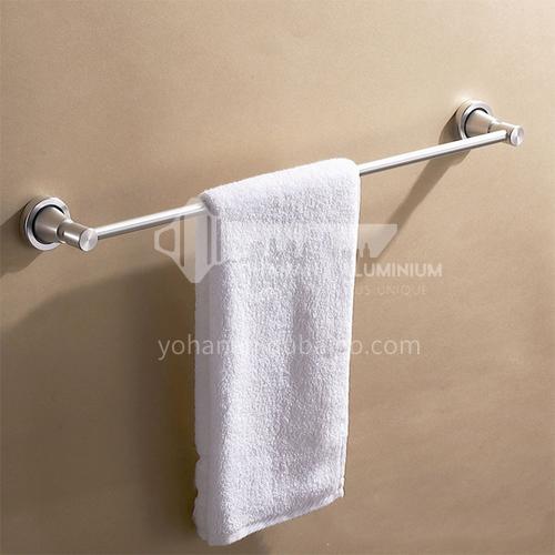 Bathroom silver space aluminum horizontal bar towel rack5311