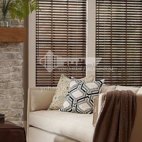 Modern Basswood Printed Wood Louver SF2324
