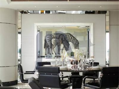 European style luxury simple low-key gorgeous copper chandelier