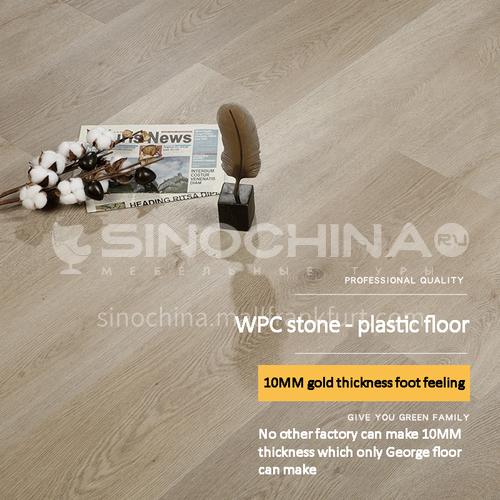10mm wood plastic floor LY WPC-11
