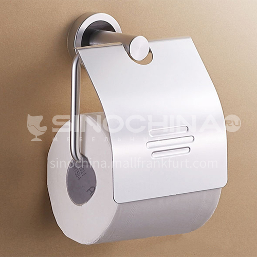 Bathroom silver space aluminum paper towel holder 9606