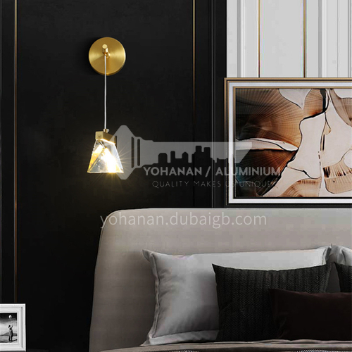 Bedroom Bedside Nordic Wall Lamp Modern Simple Living Room Wall Lamp Aisle Light Minimalist Light Luxury Wall Lamp-AG-LB3143