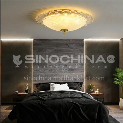 Bedroom lamp European romantic wedding home master bedroom ceiling lamp led modern minimalist living room lamp BD-D8819
