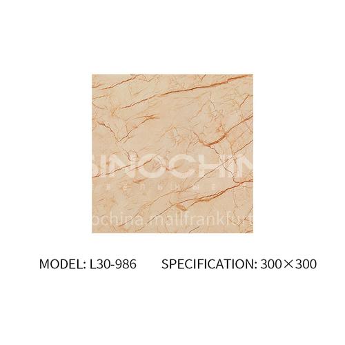 Bathroom tile simple modern 300x600 bathroom toilet wall tile bathroom non-slip floor tile-SKLL30-986 300mm*300mm