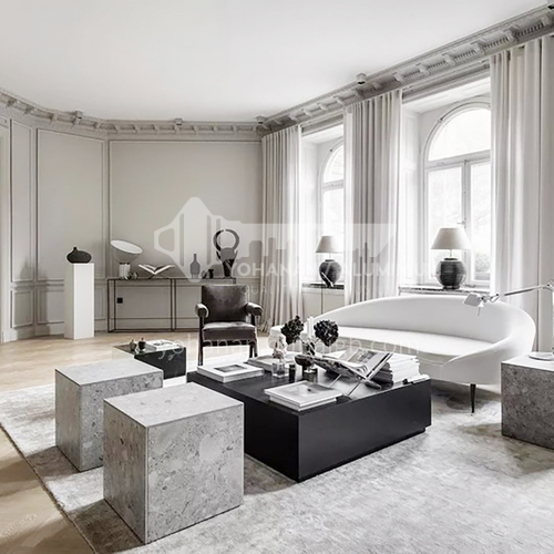 Apartment-French style apartment design AFS1038
