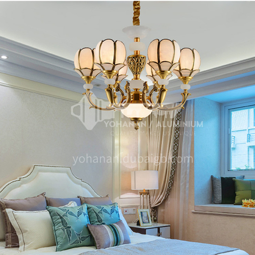 European style chandelier living room lamp luxury atmosphere chandelier home dining room bedroom hall modern minimalist chandelier BLSD-9052