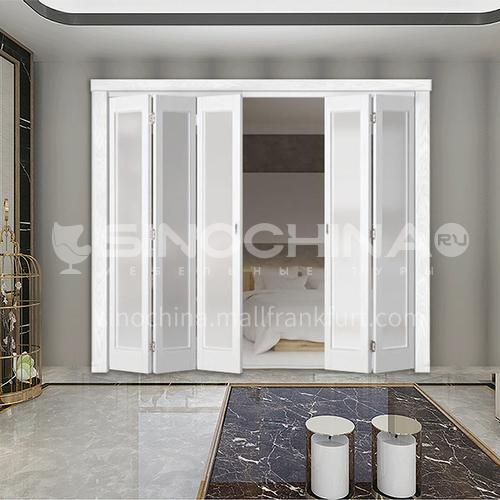 G wooden folding door composite wooden door with glass bedroom door living room door kitchen door modern style 10