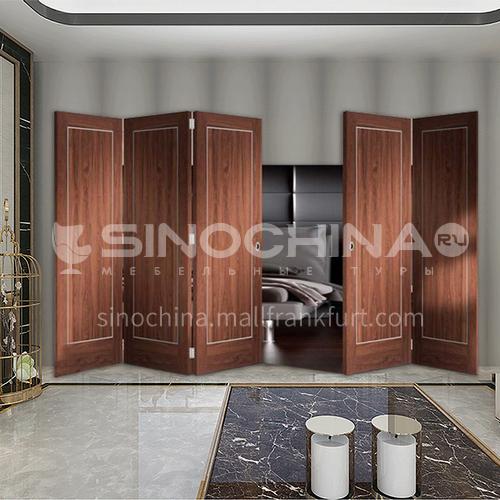 G wooden folding door composite wooden door bedroom door living room door kitchen door modern style 11