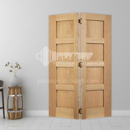 G wooden folding door composite wooden door with veneer bedroom door living room door kitchen door modern style 14
