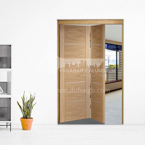 G wooden folding door composite wooden door with veneer bedroom door living room door kitchen door modern style 19