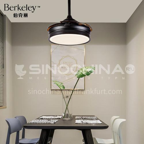 Modern minimalist fan chandelier dining room light modern nordic style bedroom light-NVC-BR-BXDQ5001/1