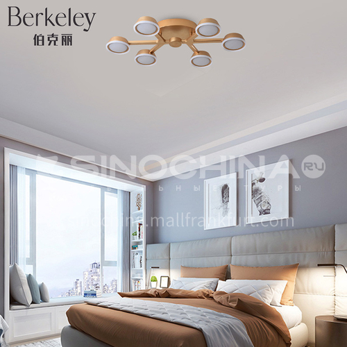Modern and simple round living room lamp LED ceiling lamp Nordic bedroom dining room lamp-NVC-FH-BXXN1081