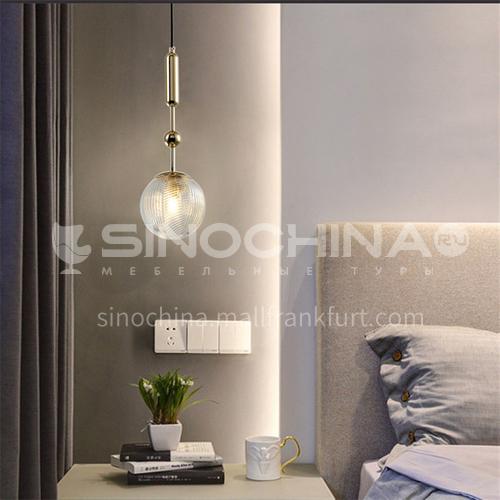 Berkeley Yuanwu modern minimalist chandelier LED Nordic living room light bedroom light dining room light-NVC-YW-BXDK1923