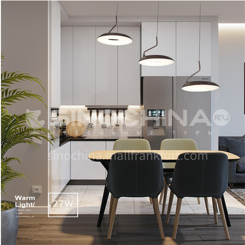 Modern and simple lighting, creative personality, living room dining room chandelier-NVC-BXXZ5008