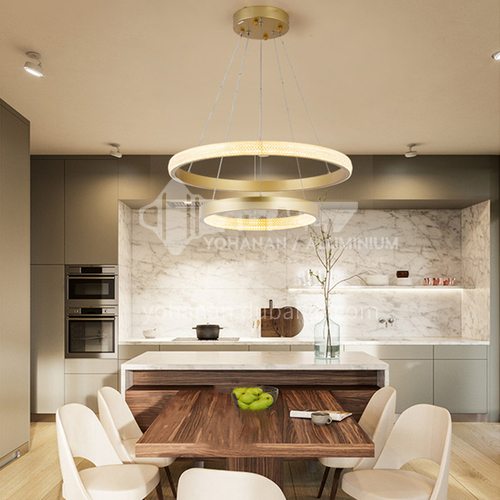Modern living room dining room bedroom lamp simple light luxury chandelier-NVC-GY-BXDY1136