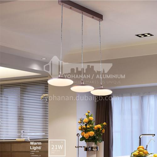 LED chandelier restaurant simple creative art living room lamp Nordic modern bedroom chandelier -NVC-JM-BXXZ1120