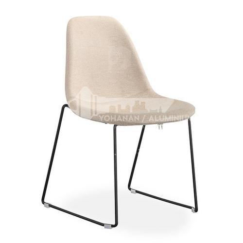 DPT-206-1, bar chair, electroplating frame, hardware frame, shaped cotton, skin-friendly fabric, PU, comfortable sponge cushion