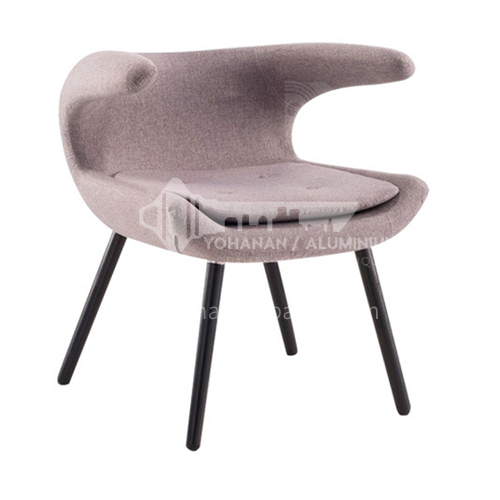 DPT-217-2 Creative horn design chair Ash wood feet + stereotyped cotton +cloth/leather