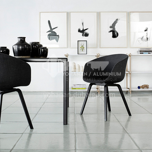DPT-218 Leisure Bar Chair Ash solid wood feet + stereotyped cotton +Leather/cloth two material options