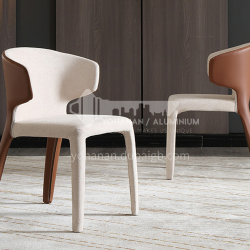 DPT-237 Minimalist dining chair for living room with multiple material options