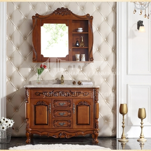 European style bathroom cabinet combination antique American style bathroom cabinet O0906-Empire