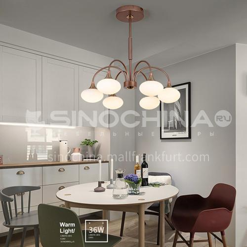 Modern minimalist light luxury lamps Nordic personality creative art living room dining room chandelier-NVC-LX-BXDV1111
