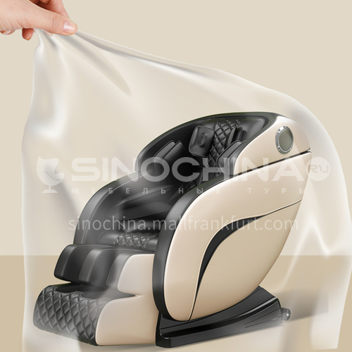 GH-Y8-Massage chair, 3D massage robot, zero-gravity capsule, air pressure wrap massage, imitating hand massage, high-quality PU leather material