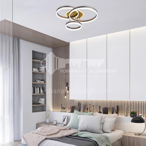 Modern minimalist round living room lamp LED ceiling lamp Nordic bedroom dining room lamp-NVC-QQ-BADN1079