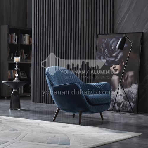 BL4-YZ Living room high-end fashion leather sponge cushion lounge chair
