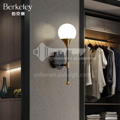 Bedroom Bedside Lamp Modern Living Room Background Wall LED Stair Aisle Wall Lamp-NVC-SYBD-BJBK5001