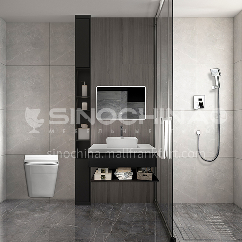 Creative space-modern minimalist style apartment bathroom design CM1015